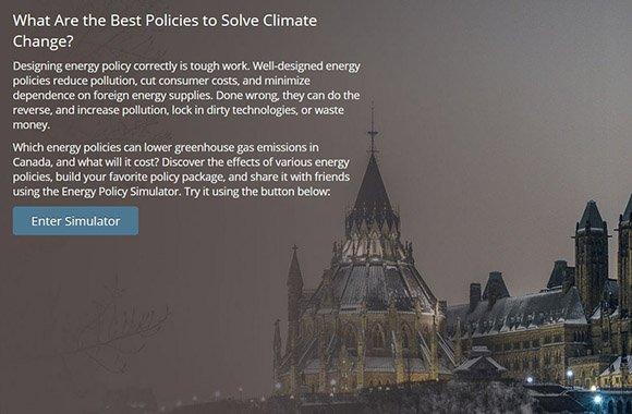 Energy Policy Simulator